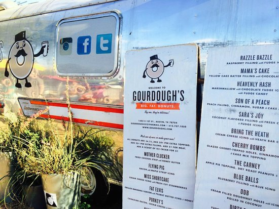 Gourdough's: Gordough's Trailer and Menu Boards