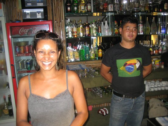 Gigi Brasil: The friendly staff and a well stocked bar