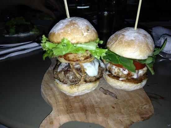 Vanilla Pod Restaurant: Burger/Slider