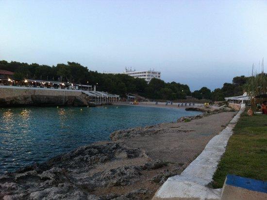 Cala Blanca Sun Hotel: Cala blanca playa