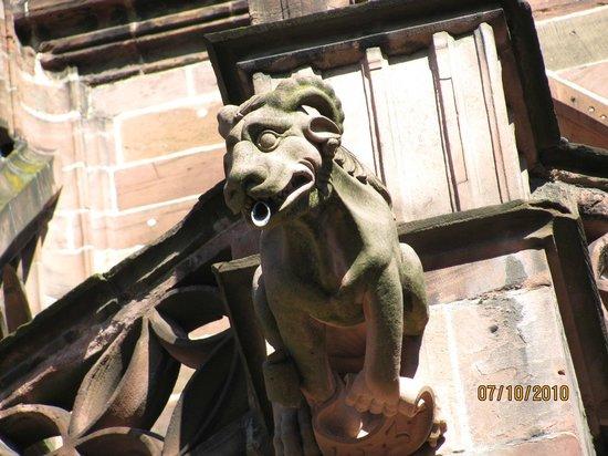 Freiburg Cathedral: Gargoyle