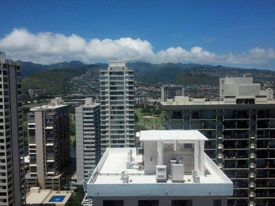 Aqua Pacific Monarch: View from balcony