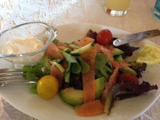 Hôtel la Clé des Champs: Fresh and delicious