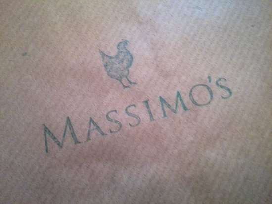 Massimo's: says it all