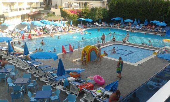 Avena Resort & Spa Hotel: utsikt fra balkongen vår