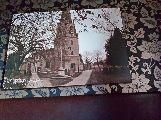 Kings Head Hotel Masham: Picture in our room!