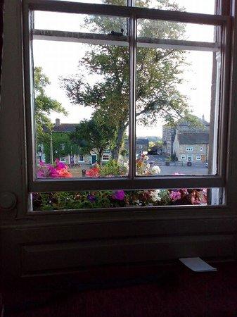 Kings Head Hotel Masham: View from the window.