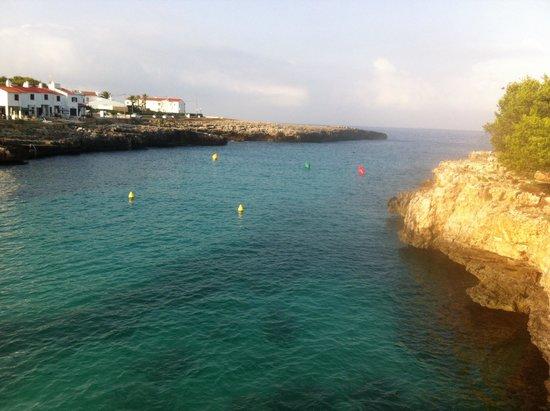 Cala Blanca Sun Hotel: Playa de cala blanca