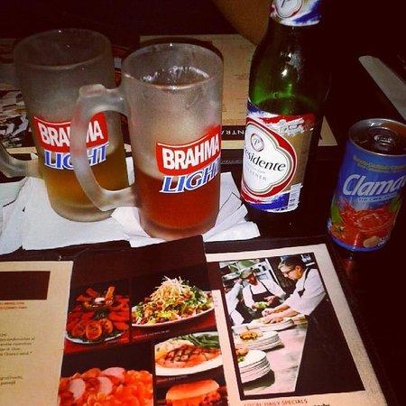 Hard Rock Cafe Santo Domingo : Presidente beer