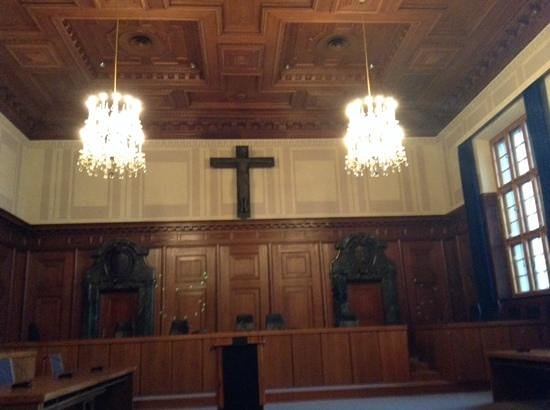 Nuremburg Trial Courthouse: what it looks like today