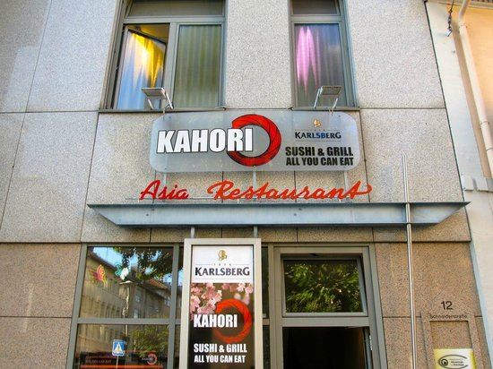 Kahori Sushi: Exterior