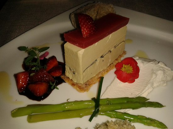 Elements Restaurant: Foie gras layer cake