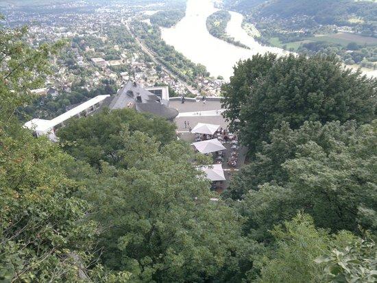View over restaurant - Burg Drachenfels
