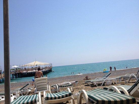Alva Donna Exclusive Hotel & Spa: plaj