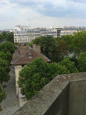 Hotel du Lion: view