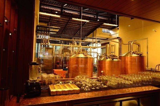 The Paul Bangalore: On site microbrewery.