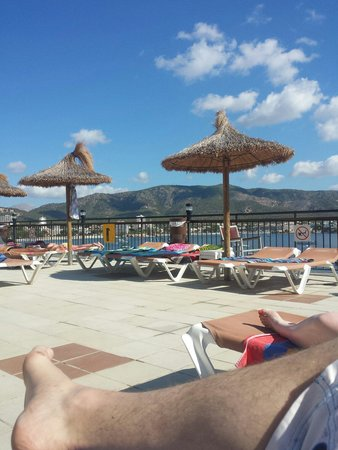 Alua Palmanova Bay (ex Intertur): Sun terrace, brilliant views over Palmanova
