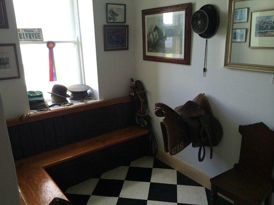 Kilcolgan Castle: Tack Room