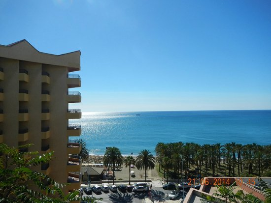 Melia Costa del Sol: View from the room balcony