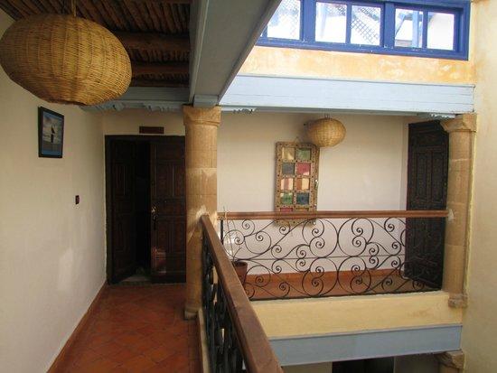 La Maison Du Vent : patio interior