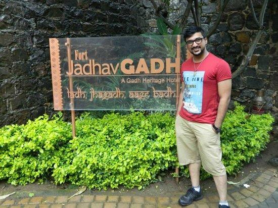 Fort JadhavGADH: Entrance