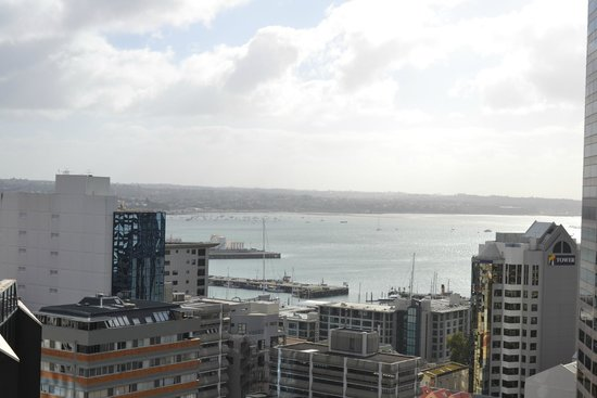 Barclay Suites Auckland : view from room