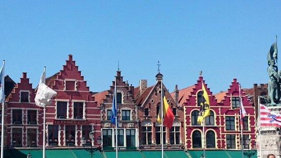 Grand-Place : Historische Häuser am Großen Markt