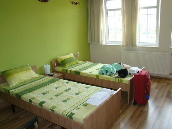 Hostel Iguana: twin room