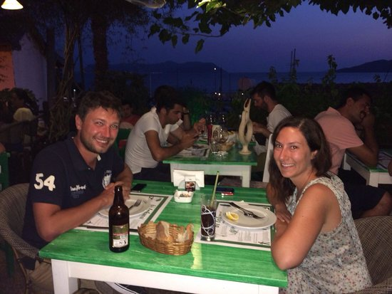 Bi Lokma Restaurant: Garden and the view