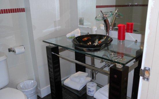 Le Champlain Hotel : la salle de bain