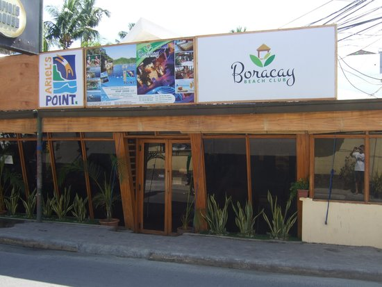 Boracay Beach Club: Hotel - front