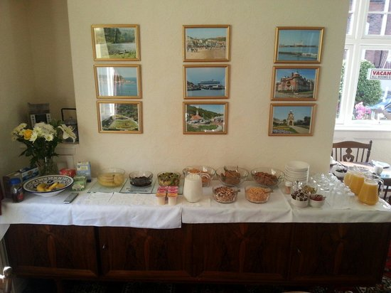 Lonsdale Villa: Breakfast selection