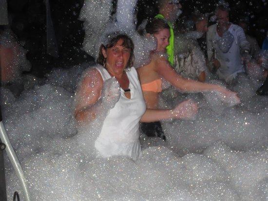 Secrets Maroma Beach Riviera Cancun: Foam Party