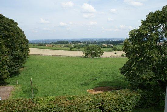 Château de Buffavent : La vue de notre fenêtre