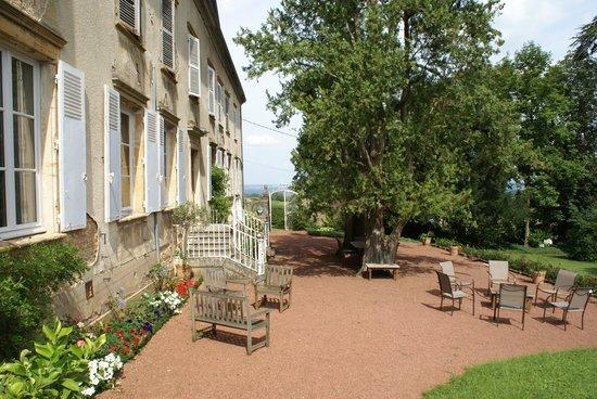 Château de Buffavent : Le jardin