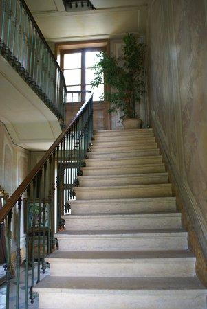 Château de Buffavent : Le grand escalier