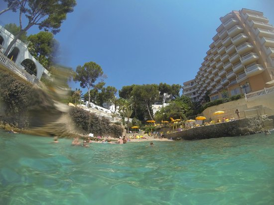 Europe Playa Marina: Отель справа