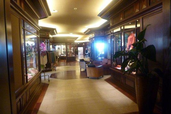 Yachthafenresidenz Hohe Düne: Hotel shopping mall