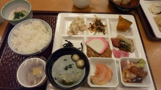 Towadako Grand Hotel : 和食朝食 ご飯が美味しかった