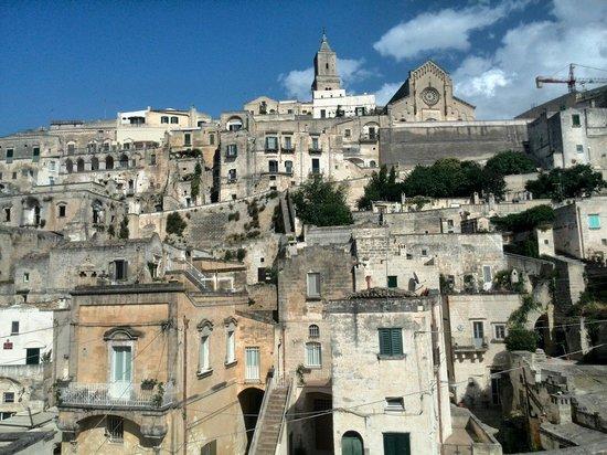 San Giovanni Vecchio Residenza: Una vista panoramica stupenda, dal terrazzino accessibile a tutti gli ospiti di questo bellissim