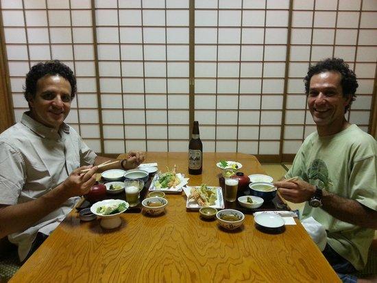 Ryokufuso: la cena!