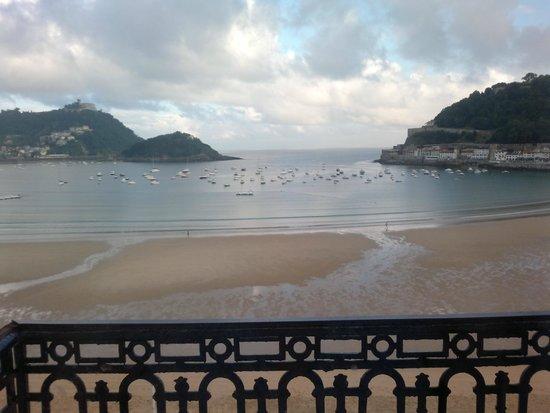 Hotel de Londres y de Inglaterra : Desde mi balcón