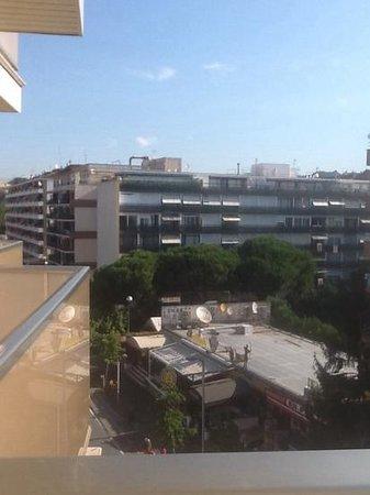 H·TOP Royal Beach: balcony view lloret