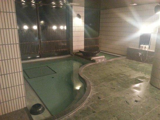 Ryokufuso: bagno termale all'ultimo piano