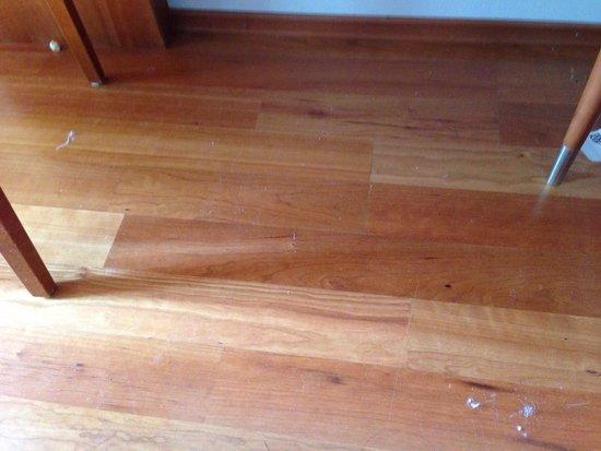 Scandic Simonkentta: The floor after 4 days