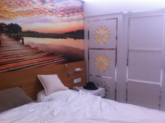 Holiday Village Turkey Sarigerme: Adult part of bedroom