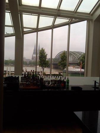 Hyatt Regency Cologne : breakfast view!