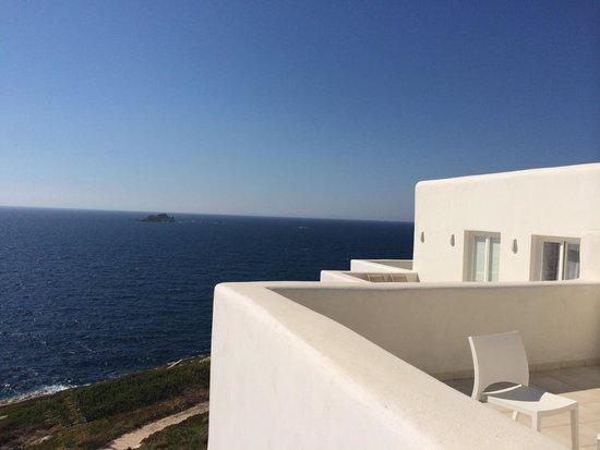 Archipelagos Resort Hotel : Blick vom Zimmer 221 (JunSuite)