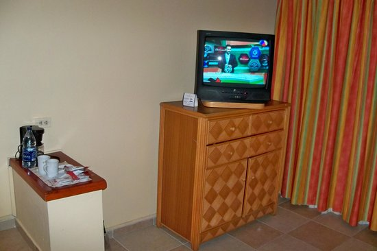 Caribe Club Princess Beach Resort & Spa: Sala de estar