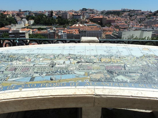 Miradouro São Pedro de Alcântara : Mirador São Pedro de Alcántara